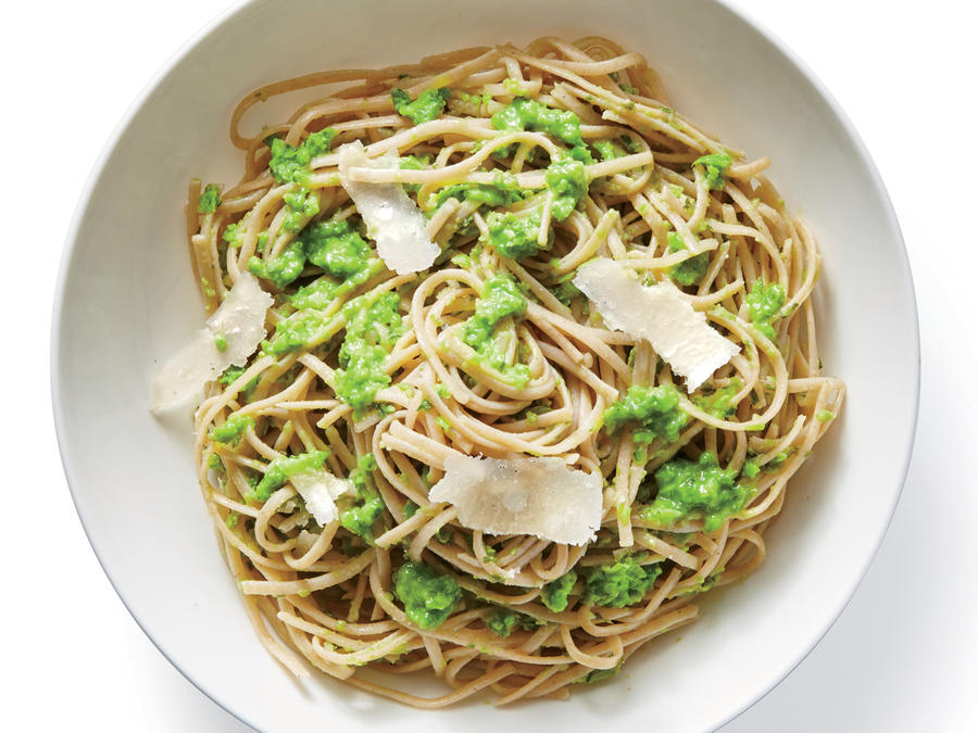 Pasta with Pea Puree