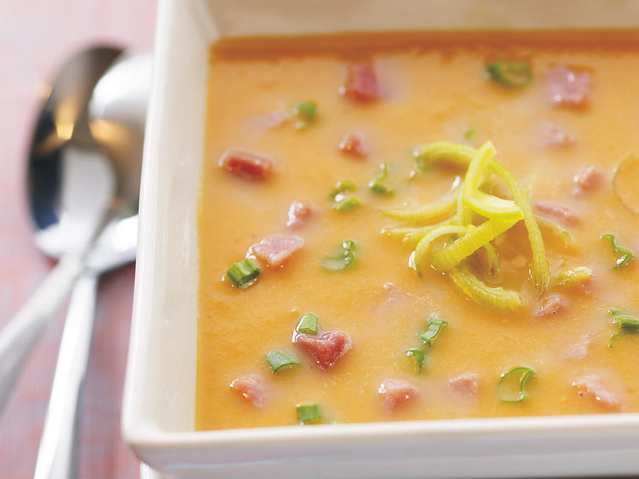 Sweet Potato, Leek, and Ham Soup Recipes