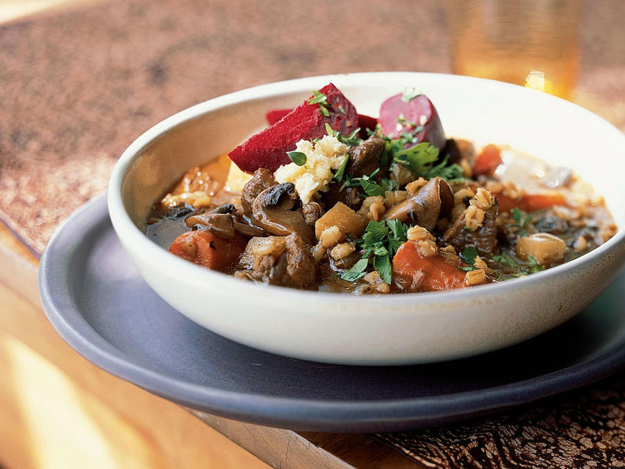 Beef, Beer, and Barley Stew Recipe