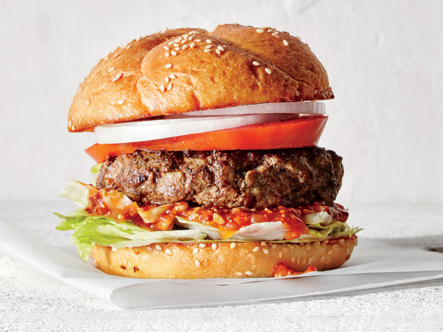 All-American Grilled Burger