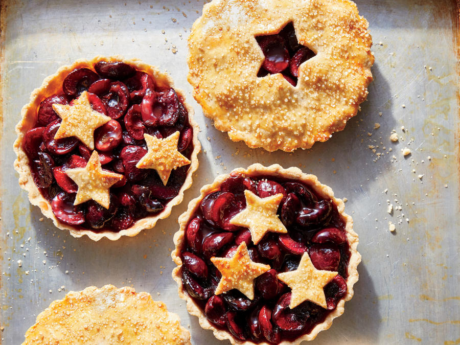Sweet-and-Sour Cherry Tartlets