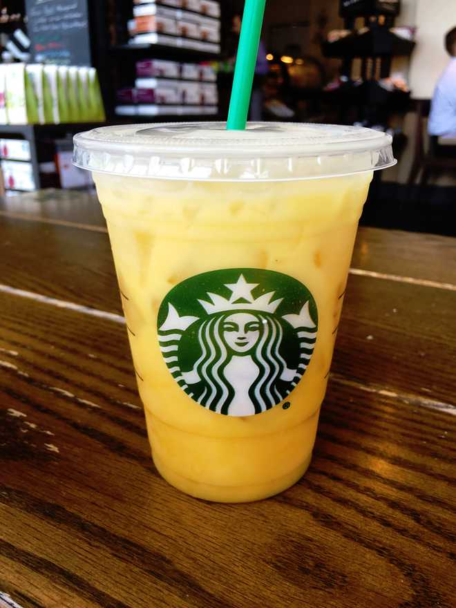 starbucks orange mango drink
