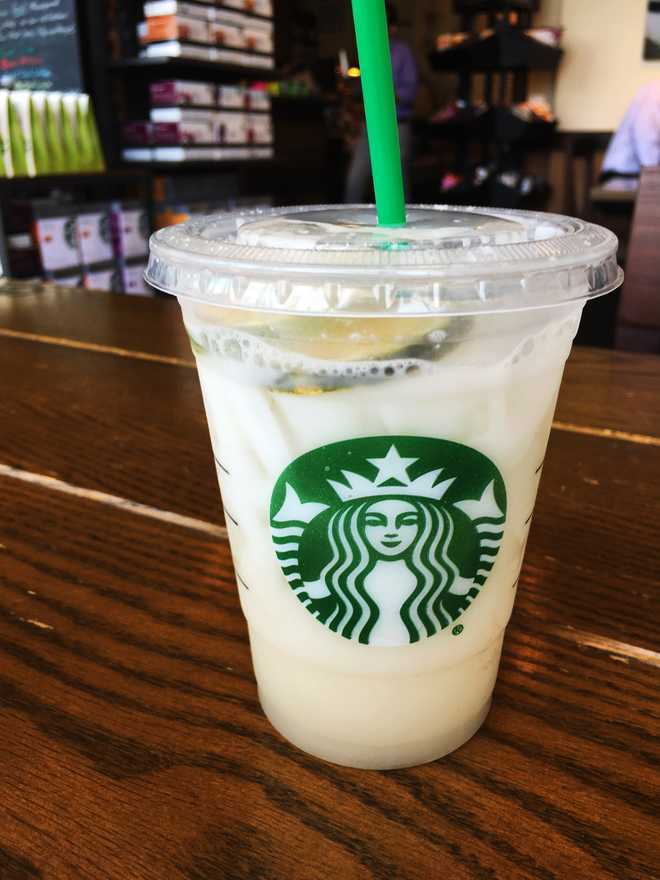 starbucks lime refresher