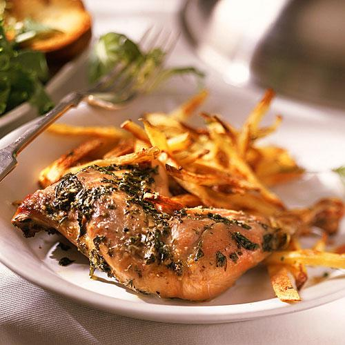 recipe for two french inspired bistro roast chicken