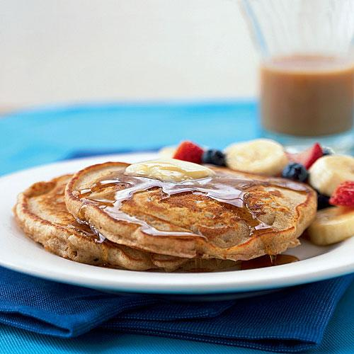 Whole Wheat Flour Buttermilk Pancakes