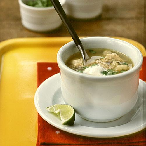 Posole (Tomatillo, Chicken, and Hominy Soup) - 100 Mexican Recipes ...