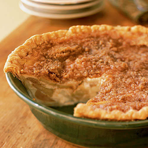 Apple-Buttermilk Custard Pie