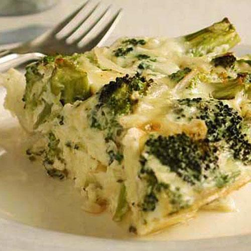 Healthy Crustless Broccoli and Cheese Quiche Recipes