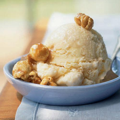 4th of July Recipes: Caramel Corn Ice Cream