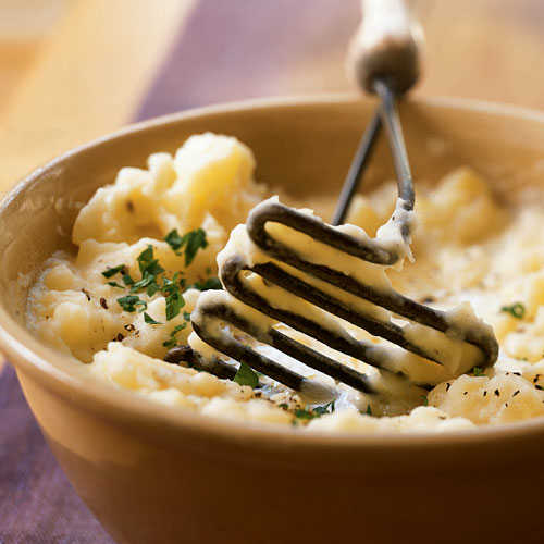 Creamy Herbed Mashed Potatoes Recipe