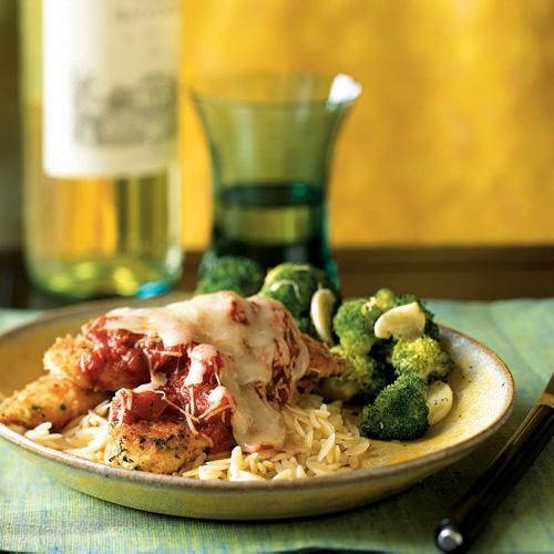 Herbed chicken parmesan 20 top rated chicken recipes for 5 star recipes for dinner
