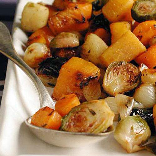 Winter's Best: Marsala-Glazed Winter Vegetables