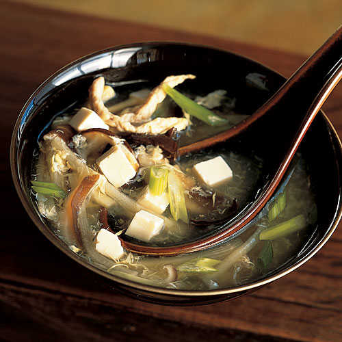 Healthy Hot and Sour Soup with Tofu Recipe