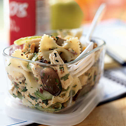 Roasted Chicken And Bow Tie Pasta Salad 25 Best Pasta Recipes Cooking Light