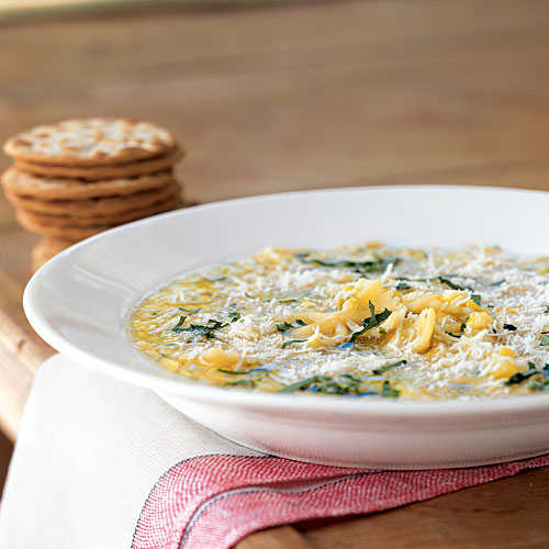 Summer Squash Soup with Pasta and Parmesan - Summer Squash and ...