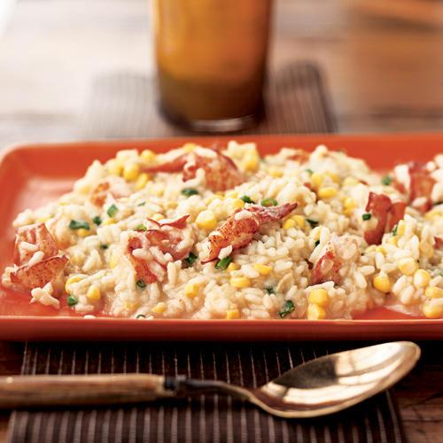 Healthy Lobster and Corn Risotto Recipe