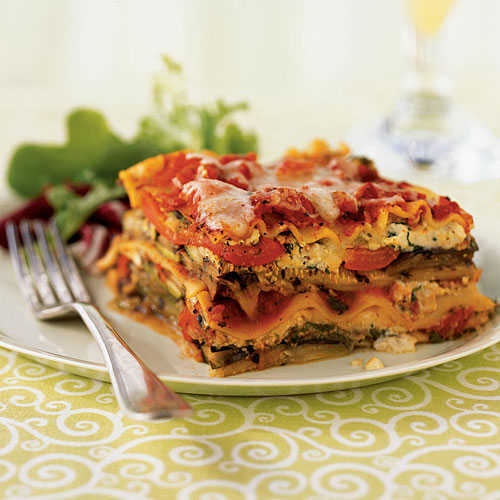 Grilled Vegetable Lasagna - Summer Squash and Zucchini Recipes ...