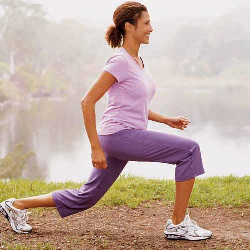 Slow-Walking Lunge