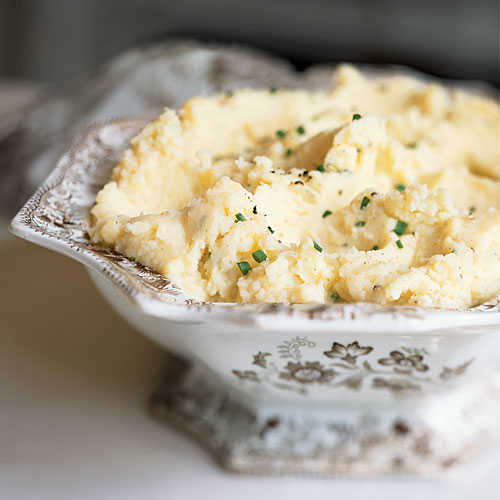 Clean Recipes: Camembert Mashed Potatoes