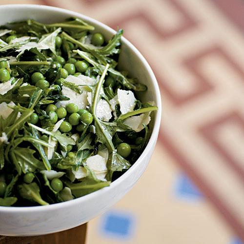 Easter Fresh English Pea Salad with Mint and Pecorino Recipe
