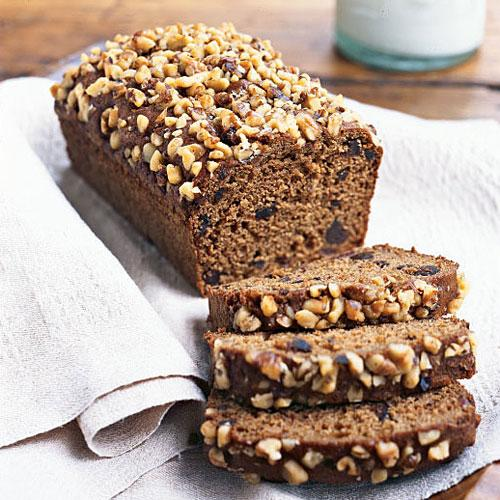 Whole-Wheat Flour Fig, Date, and Walnut Quick Bread