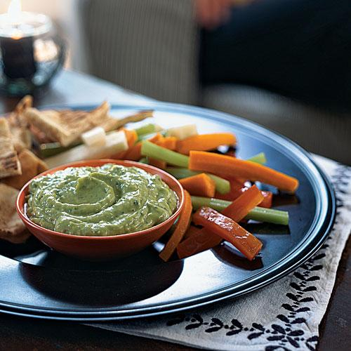 Low-Cal Avocado-Yogurt Dip with Cumin