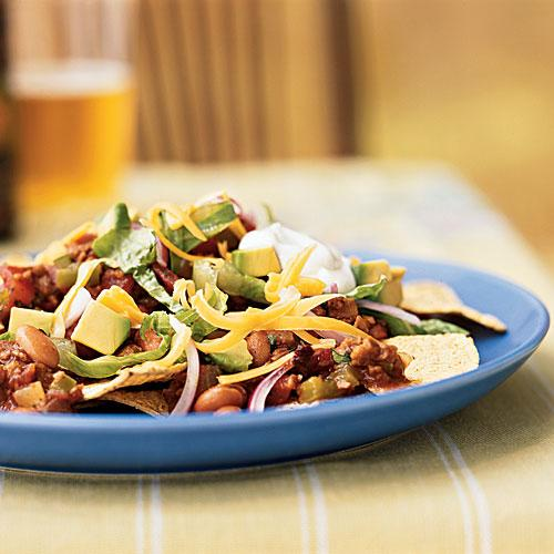 Vegetarian Chipotle Nachos - Recipes