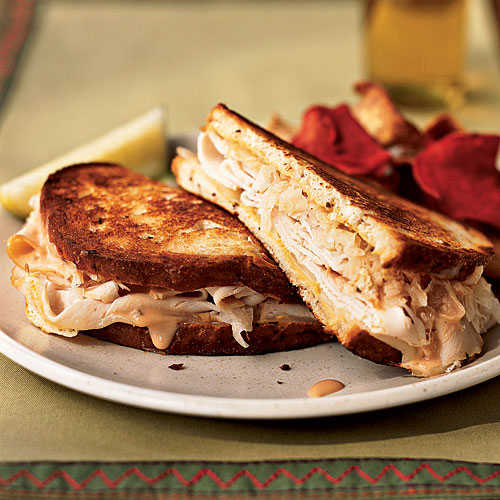 Turkey Reuben Sandwiches Makeover