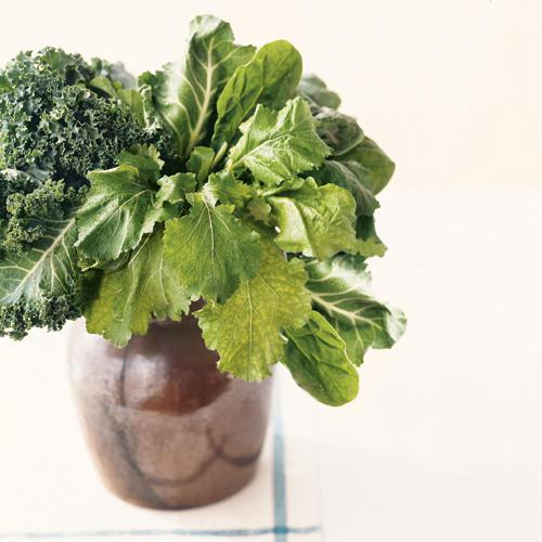 Vitamin K Source: Leafy Greens