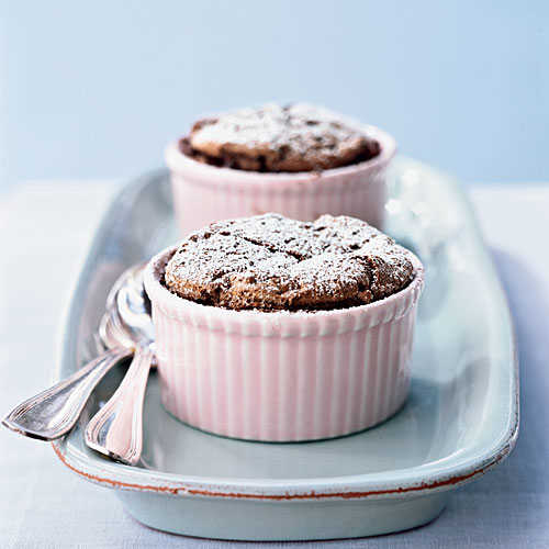 Individual Chocolate Souffle Cakes Recipes