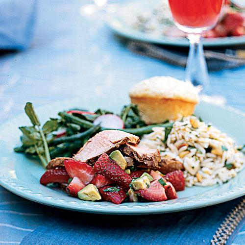 Spring Luncheon Party Menus and Recipes