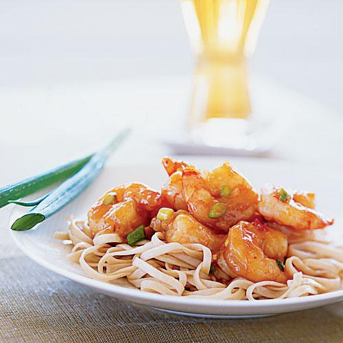 Stir-Fried Shrimp with Spicy Orange Sauce - Fast-Cooking ...