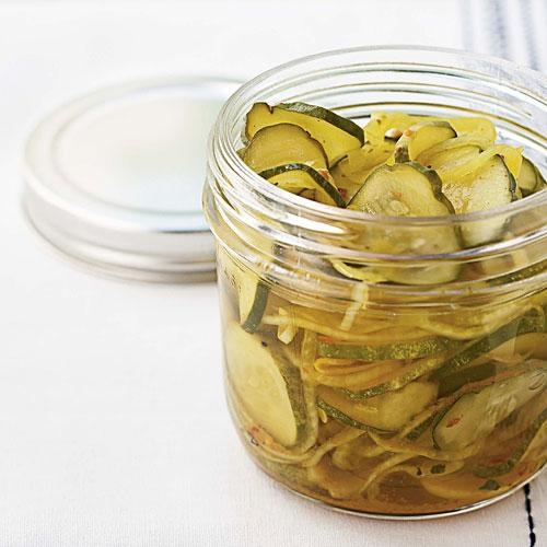 Easy Refrigerator Pickles Comfort Food Recipe