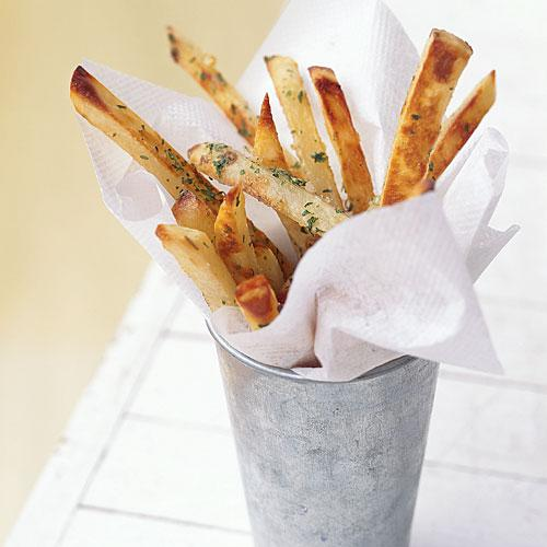 Garlic Fries Comfort Food Recipe