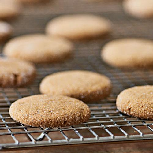 Healthy Ginger Cookies Recipe