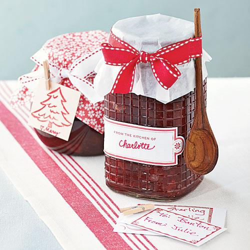 Homemade jams and spreads like our five-star Cranberry-Orange Marmalade (pictured) can be a sweet, affordable gift for your neighbors.