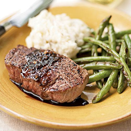 Balsamic-Glazed Filet Mignon