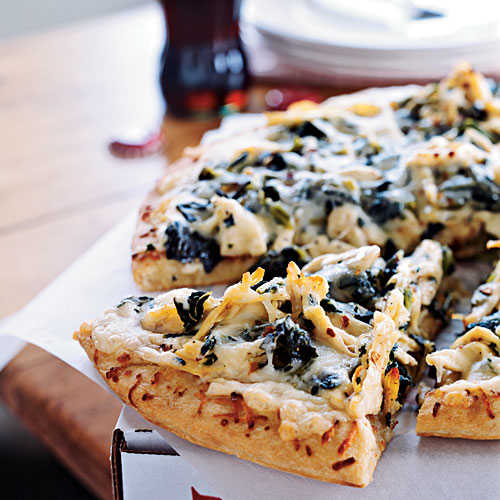 Healthy Kids Meal Turkey Alfredo Pizza Recipes