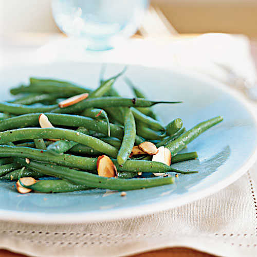 Easter Green Bean Salad Amandine Recipe