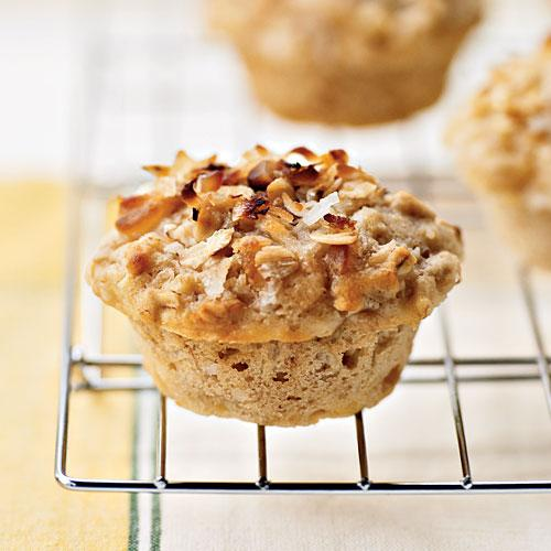 Healthy Tropical Muffins with Coconut-Macadamia Topping Recipes