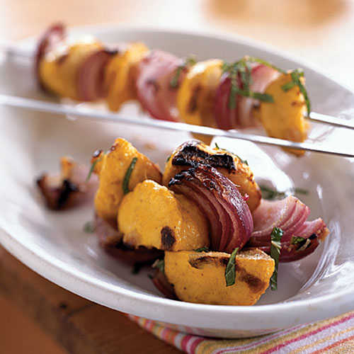 Indian-Spiced Grilled Baby Squash