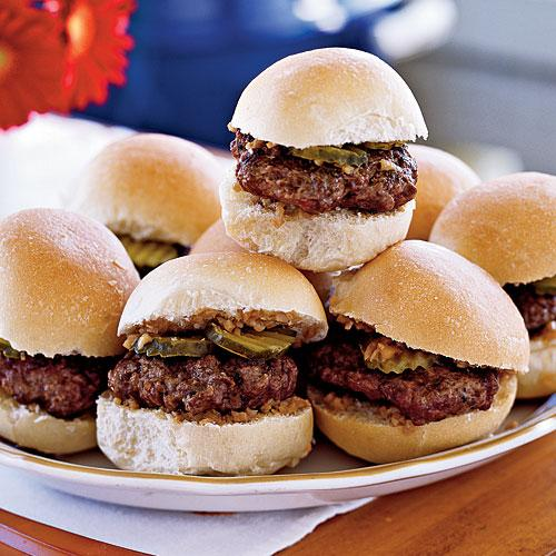 Sliders with Shallot-Dijon Relish Recipes