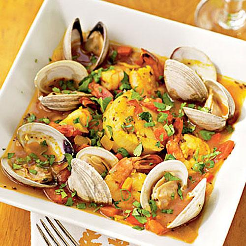Healthy Shellfish with Chipotle and Tequila Recipe