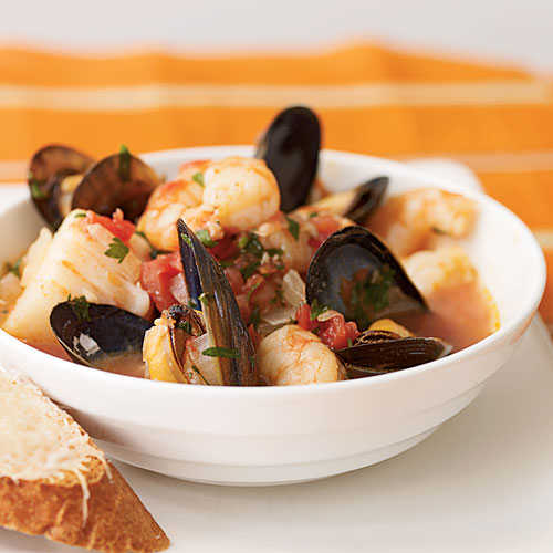Cioppino-Style Seafood Stew