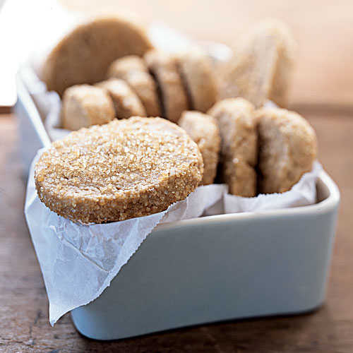 Brown Sugar-Pecan Shortbread - 120 Healthy Cookies ...