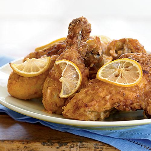 Healthy Kids Meal Lemon-Ginger Fried Chicken Recipes