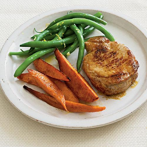 Spice Rubbed Pork Chops