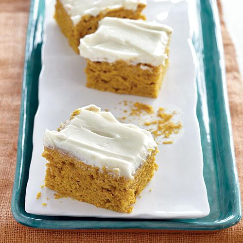 Frosted Pumpkin Cake Recipes