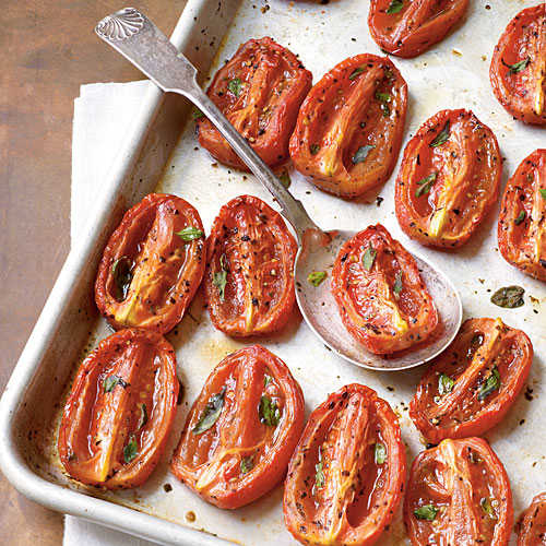 The Best Aromatic Slow-Roasted Tomatoes