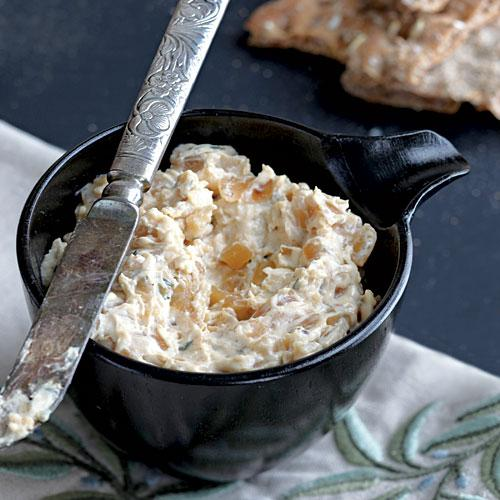 Warm Caramelized Onion Dip - Healthy Dips | Cooking Light